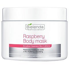 Bielenda Professional Raspberry Body Mask With Guarana Bio-Coffeine 1/1