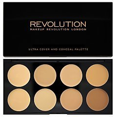 Makeup Revolution Ultra Cover and Conceal Palette 1/1