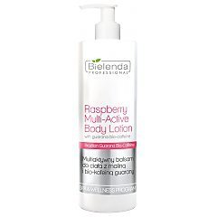 Bielenda Professional Raspberry Multi-Active Body Lotion With Guarana Bio-Coffeine 1/1