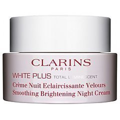 Clarins White Plus Pure Total Luminescent Smoothing Brightening Night Cream tester 1/1