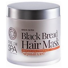 Natura Siberica Fresh SPA Black Bread Hair Mask tester 1/1