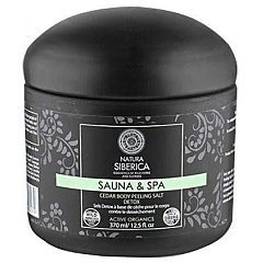 Natura Siberica Sauna & Spa Cedar Body Peeling Salt Detox tester 1/1