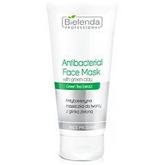Bielenda Professional Antibacterial Face Mask With Green Clay 1/1